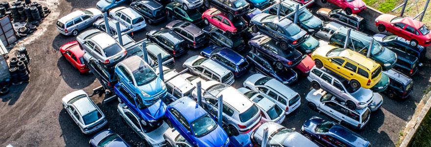 Épaves et véhicules hors d'usage