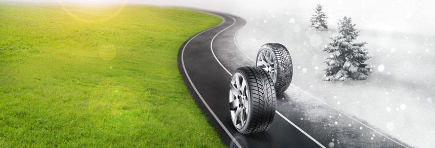 Choisir pneu en fonction de la saison